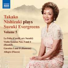 Takako Nishizaki - Suzuki Evergreens Vol.5, CD