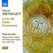 Olivier Messiaen (1908-1992): Livre du Saint Sacrement, 2 CDs