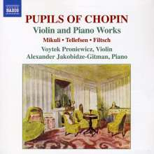 Pupils of Chopin - Musik für Violine & Klavier, CD