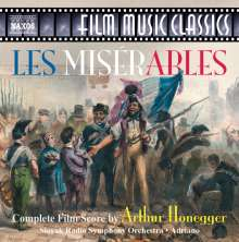 Arthur Honegger (1892-1955): Les Miserables (Filmmusik), CD