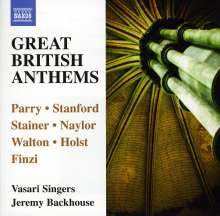 Vasari Singers - Great British Anthems, CD
