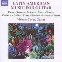Vicente Coves - Latin-American Music For Guitar, CD