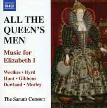 All The Queen's Men - Music for Elizabeth I, CD