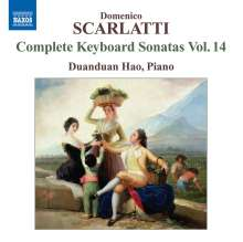 Domenico Scarlatti (1685-1757): Klaviersonaten Vol.14, CD