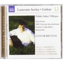 Pablo Sainz Villegas - Guitar Recital, CD