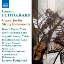 Laurent Petitgirard (geb. 1950): Cellokonzert, CD