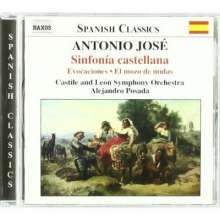 Antonio Jose (1902-1936): Sinfonia Castellana, CD