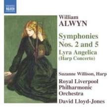 William Alwyn (1905-1985): Symphonien Nr.2 & 5, CD