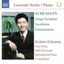 Robert Schumann (1810-1856): Novelletten op.21, CD