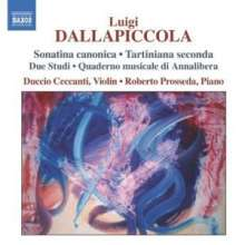 Luigi Dallapiccola (1904-1975): Klavierwerke, CD