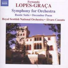 Fernando Lopes-Graca (1908-1993): Symphony for Orchestra, CD