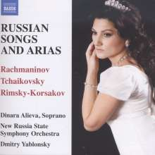 Dinara Alieva - Russian Songs & Arias, CD