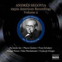 Andres Segovia - 1950s American Recordings Vol.2, CD