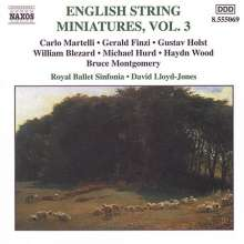 English String Miniatures 3, CD
