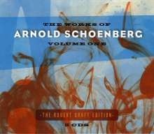 Arnold Schönberg (1874-1951): The Works of Arnold Schönberg Vol.1, 5 CDs