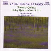 Ralph Vaughan Williams (1872-1958): Streichquartette Nr.1 & 2, CD