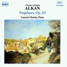 Charles Alkan (1813-1888): Esquisses op.63, CD