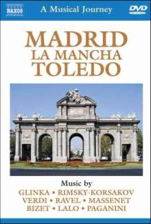 A Musical Journey - Madrid, La Mancha, Toledo, DVD