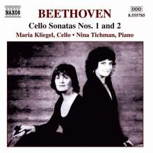 Ludwig van Beethoven (1770-1827): Cellosonaten Nr.1 & 2, CD