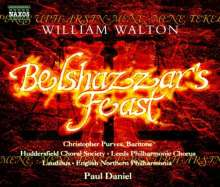 William Walton (1902-1983): Belshazzar's Feast, CD