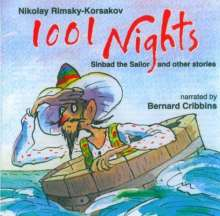 Nikolay Rimsky-Korsakov: 1001 Nights (Sinbad and more), CD