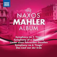 The Naxos Mahler Album, CD
