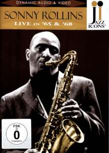 Sonny Rollins  (geb. 1930): Live In '65 & '68 (Jazz Icons), DVD