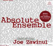 Absolute Ensemble feat. Joe Zawinul: Absolute Zawinul, CD