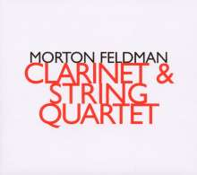 Morton Feldman (1926-1987): Clarinet and String Quartet, CD