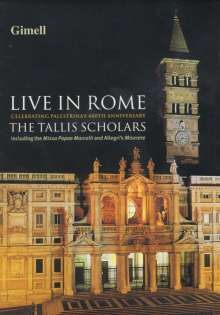 The Tallis Scholars - Live in Rome, DVD