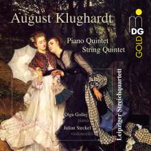 August Klughardt (1847-1902): Klavierquintett op.43, CD