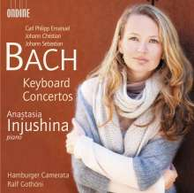 Anastasia Injushina - Bach Keyboard Concertos, CD