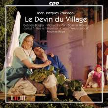 Jean-Jacques Rousseau (1712-1778): Le Devin du Village, CD