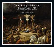 Georg Philipp Telemann (1681-1767): Lukas-Passion (1728), 2 CDs