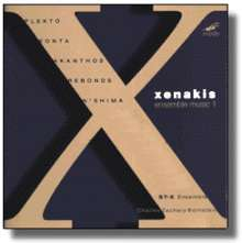 Iannis Xenakis (1922-2001): Ensemble Music I, CD
