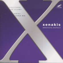 Iannis Xenakis (1922-2001): Electronic Works 2, CD