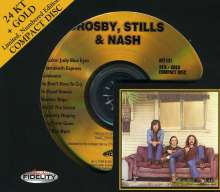 Stills Crosby & Nash: Crosby, Stills & Nash (Ltd. Special 24 Karat Gold-HDCD), CD