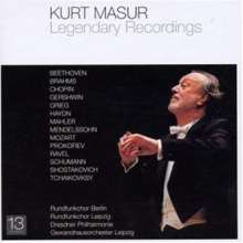 Kurt Masur - Legendary Recordings, 13 CDs