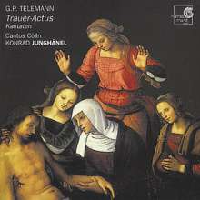 Georg Philipp Telemann (1681-1767): Trauerkantaten, CD