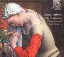 Lamentations de la Renaissance, CD
