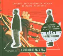 Concert Jazz Orchestra: Continental Call, DVD-Audio