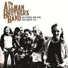 The Allman Brothers Band: A&R Studios - New York 26th August 1971, 2 LPs