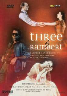 Rambert Dance Company - Three by Rambert, DVD