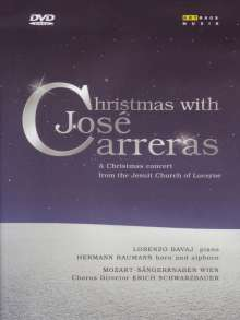 Christmas with Jose Carreras, DVD