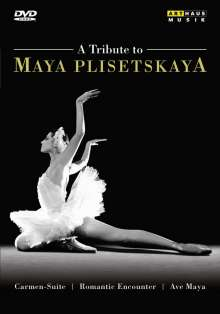 A Tribute to Maya Plisetskaya, DVD