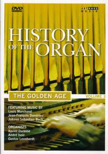 History of the Organ Vol.3 - The Golden Age, DVD