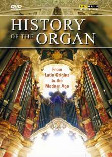 History of the Organ (Box), 4 DVDs