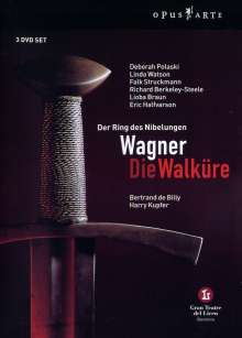 Richard Wagner (1813-1883): Die Walküre, 3 DVDs