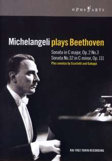 Michelangeli plays Beethoven, DVD