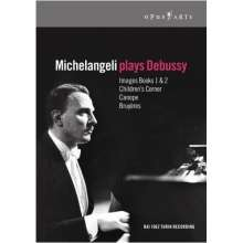 Michelangeli plays Debussy, DVD